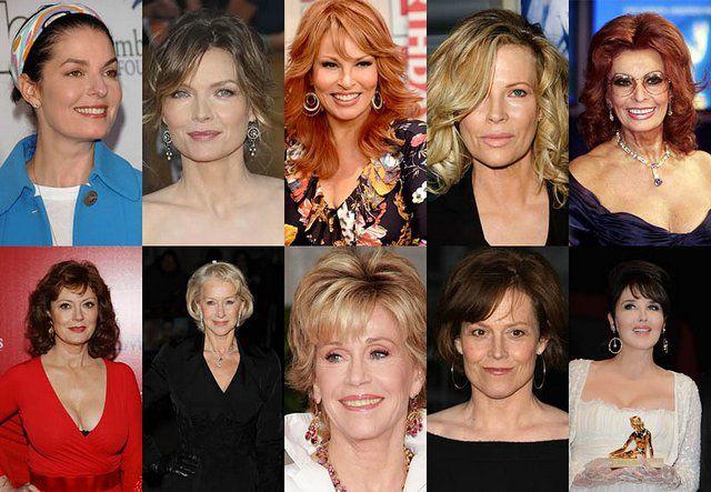 Прекрасные женщины старше 50