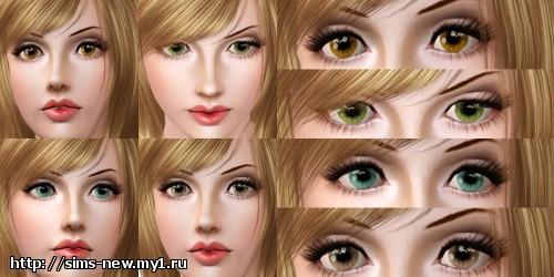 Глаза, линзы, брови для Sims 3 E7ac2b0cc34f76fc3f449d933f8f37e2
