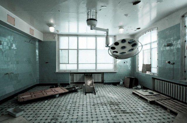 Заброшенный родильный дом