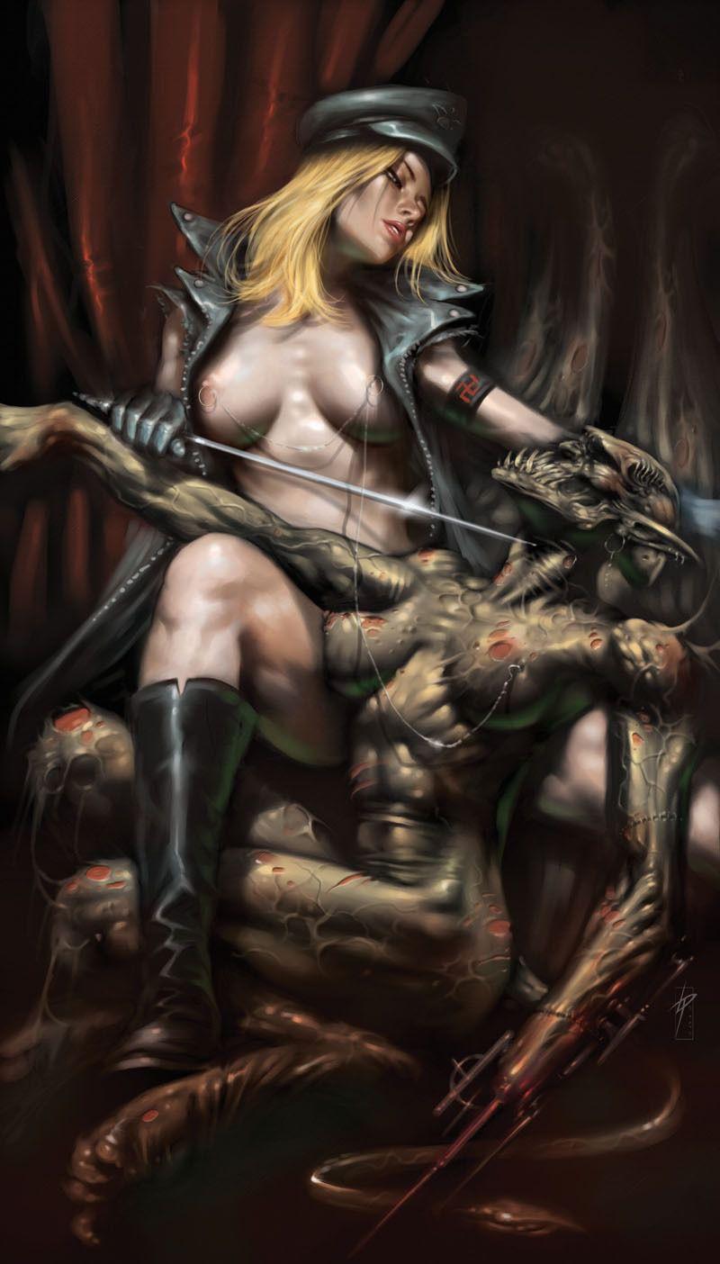 Dark fantasy erotic xxx picture