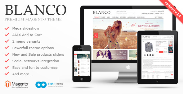 Themeforest Blanco Magento Premium Theme