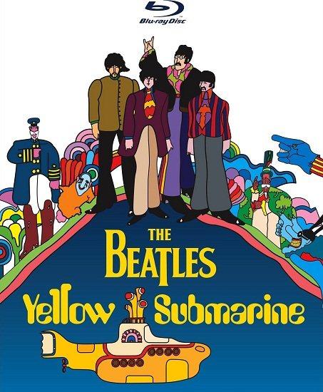 Битлз: Жёлтая подводная лодка / The Beatles: Yellow Submarine (Джордж Даннинг / George Dunning) [1968, Анимационныймузыкальный фильм, комедия, приключения,BDRemux 1080p] VO(DVD-Магия)+VO(ОРТ)+VO(Деваль-Видео)+AVO(Визгунов, Гаврилов)+ENG+sub торрент скачат