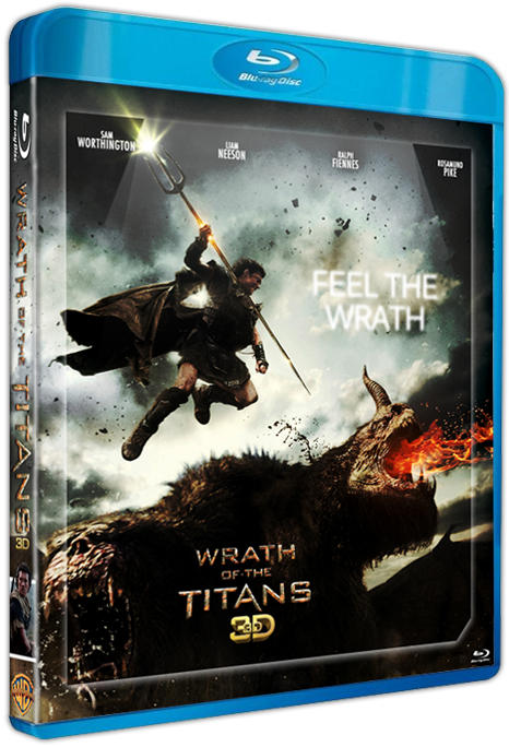 ����������� ��� ���� ������� 3� / Wrath of the Titans 3D (2012) [BDrip-AVC, Half OverUnder / ������������ ���������� ����������] (�������� ��� ��������� ������� �����������)