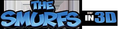 Смурфики в 3Д / The Smurfs 3D Вертикальная анаморфная