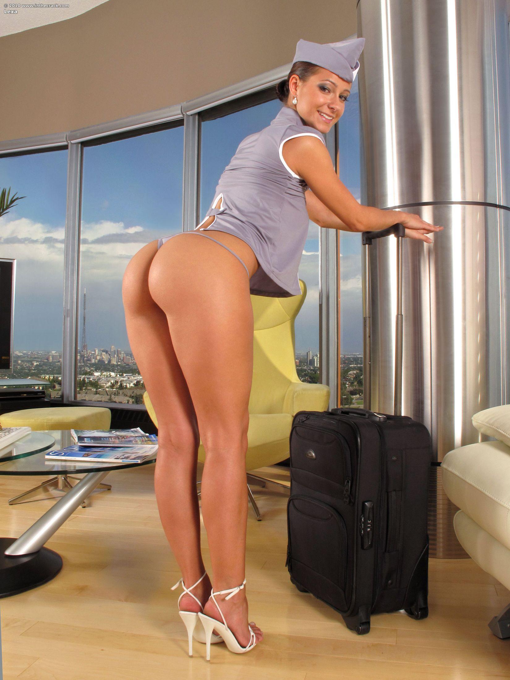 Стюардесса в попу порно 25 фотография