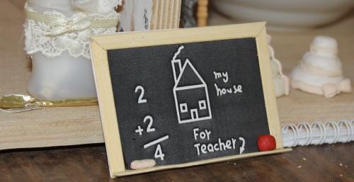 Дом Мечты №42 Полка и набор для ванной, доска с мелом