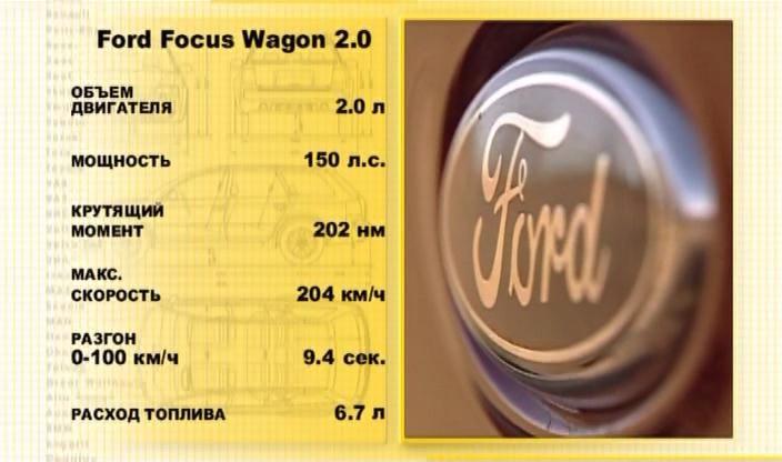 Авто плюс - Наши тесты / Ford Focus Wagon 2.0 (Эфир 26.07.2012)