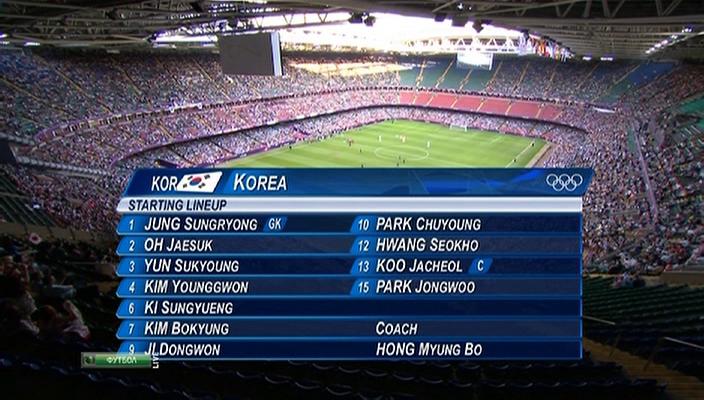 ХХХ Летние Олимпийские Игры / Футбол / Мужчины / Матч за 3-е место / Корея - Япония