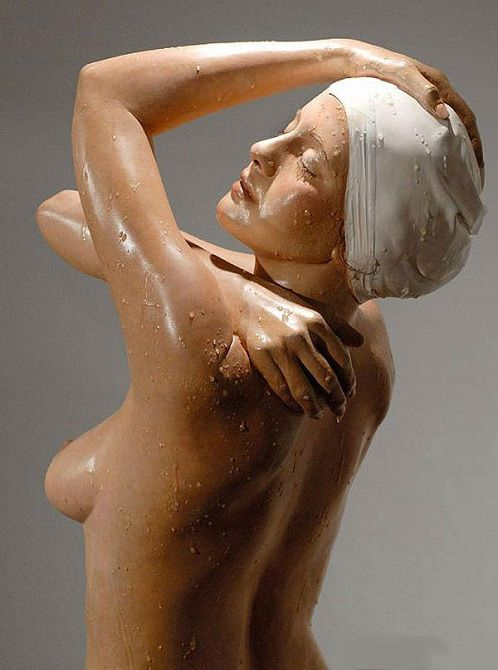 Гиперреалистичные скульптуры от Кэрол Фейерман