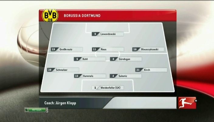 Смотреть футбол Германии 2012-13 | 1-й тур | Боруссия Д - Вердер