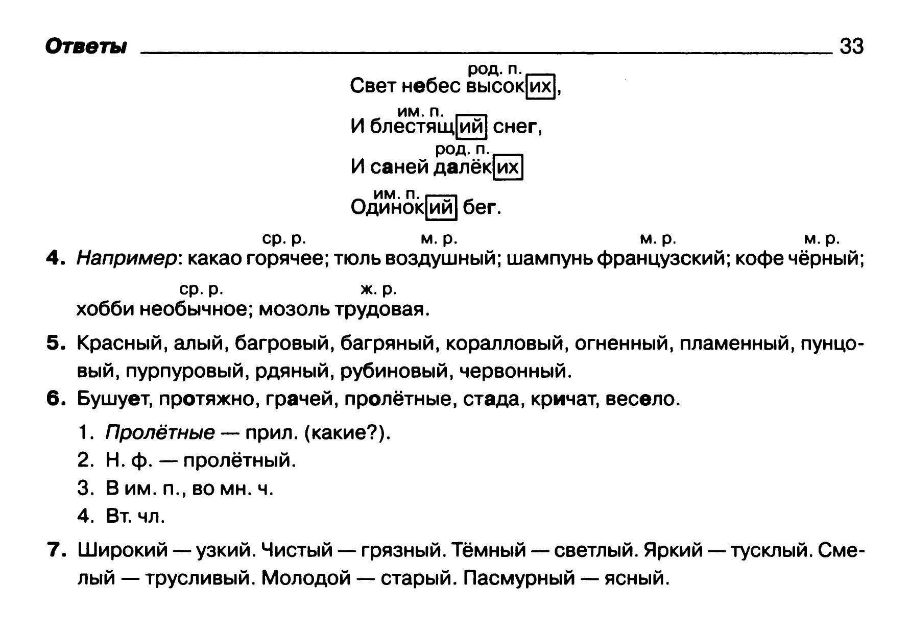 Морфологический разбор слова 5 класс.