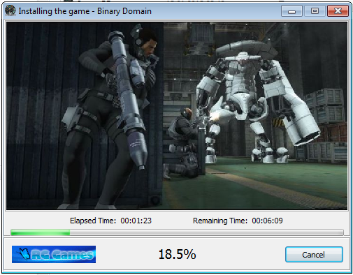 Binary Domain [Ru/Multi6] (Lossless RePack/2DLC) 2012 l R.G. Games