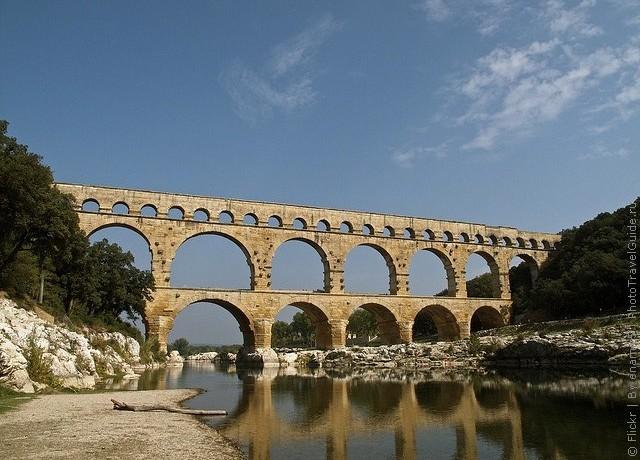 pont-du-gard фото