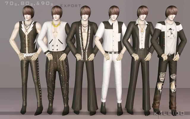 Мужская одежда - Одежда для Sims 3 - Каталог файлов - sims-