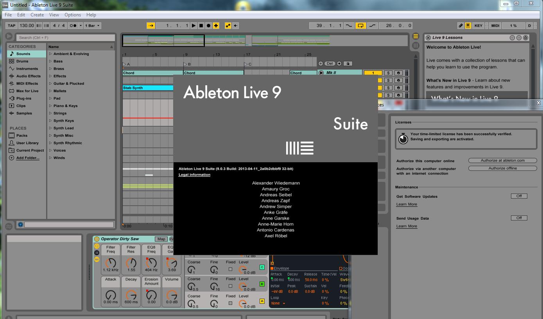 ableton live 9 suite trial crack