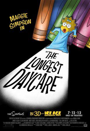 Симпсоны: Мучительная продлёнка / The Simpsons: The Longest Daycare (Дэвид Силверман / David Silverman) [2012, короткометражный анимационныйфильм, WEB-DLRip] SUB (rus)