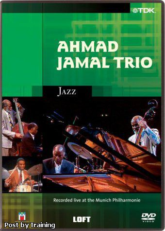 Ahmad Jamal Trio - Live At The Munich Philharmonie (DVD)