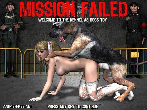 Framboise and Evi Nazi - Adult Ryona Platformer Arcade [2013] [Uncen] [Action, 3DCG, Animation] [ENG] SexGame