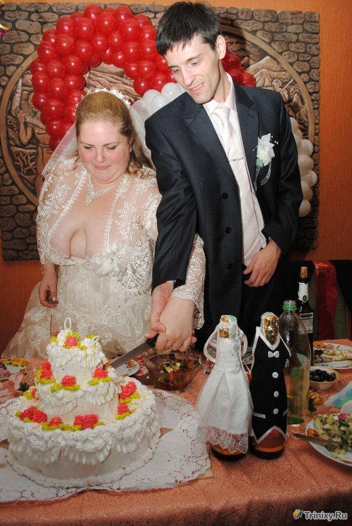 Невеста - отпад