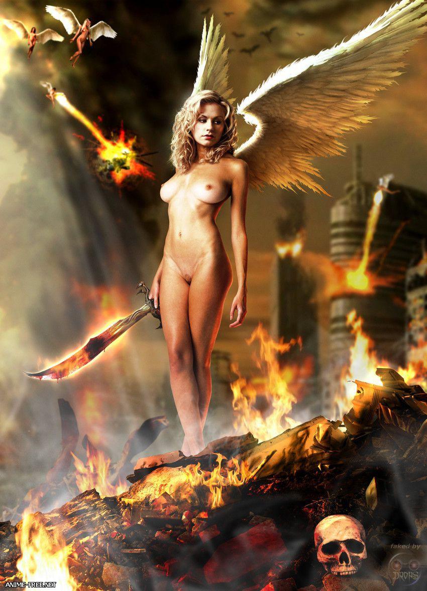 Сборник картинок на тему Angels / Ангелы [Uncen] [JPG,GIF,PNG] Hentai ART