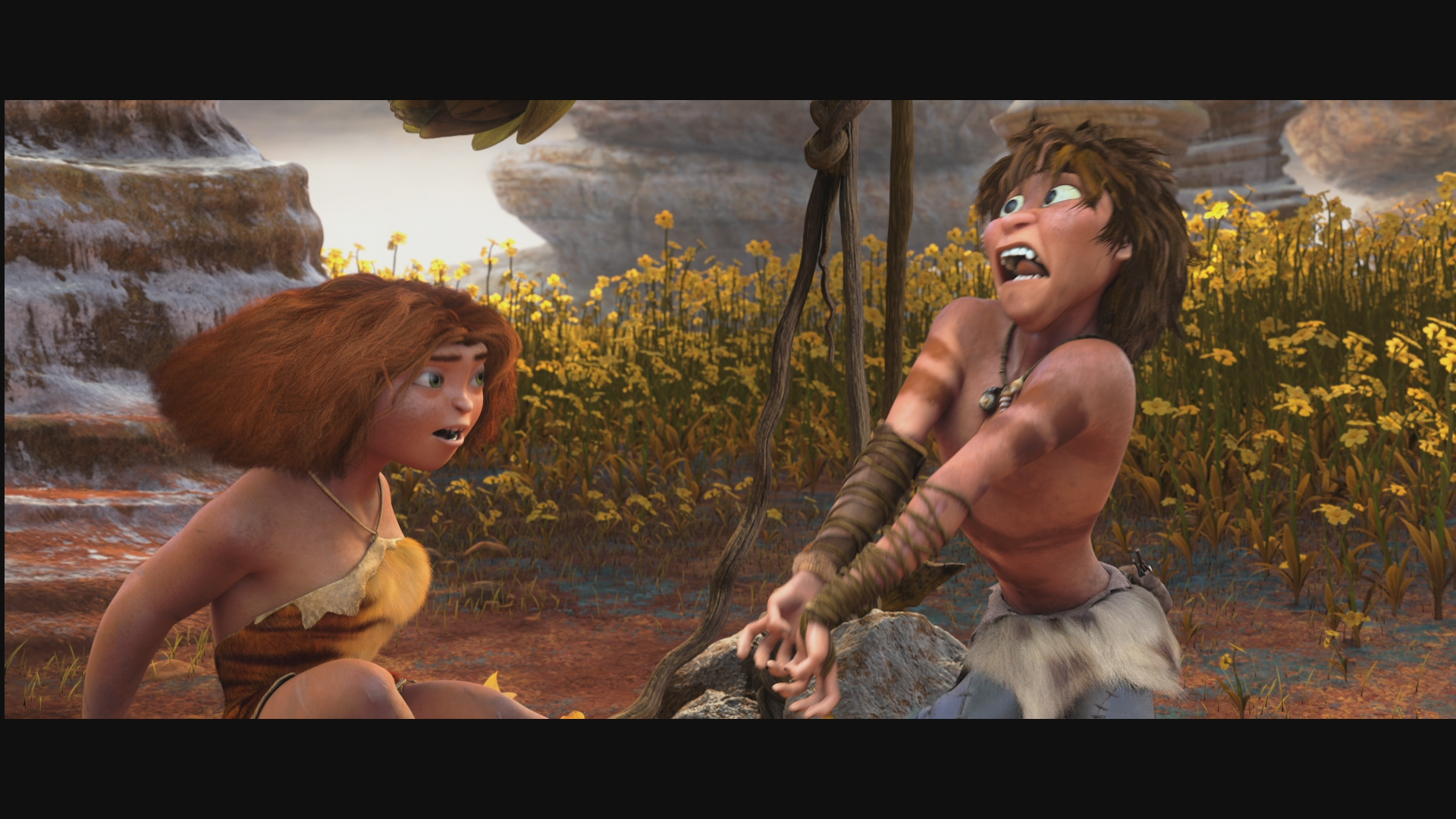 Семейка Крудс в 3Д / The Croods 3D (2013) Blu-ray 1080p