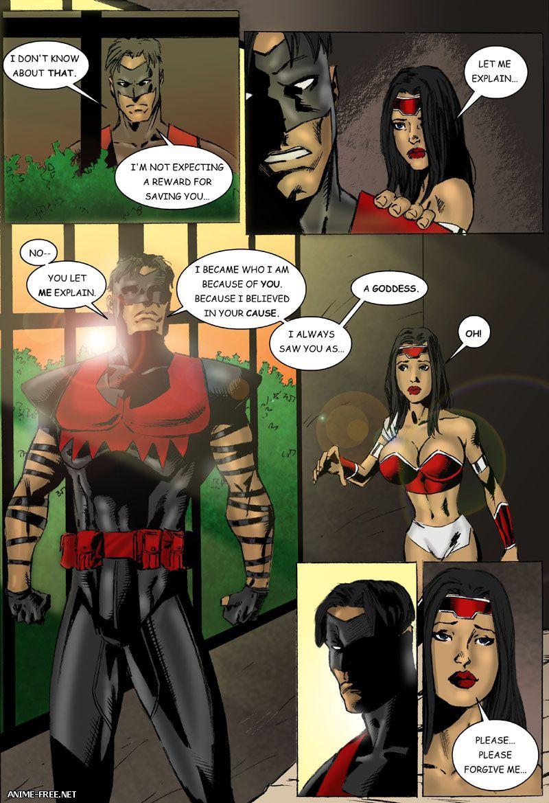 9 Superheroines / 9 Супергероинь [Uncen] [ENG] Porn Comics