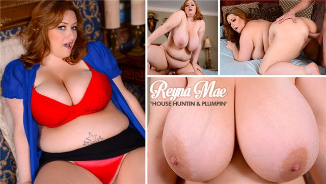 [BBWDREAMS.com/PlumperPass.com] Reyna Mae - House Huntin & Plumpin (2013) [HD 720p]