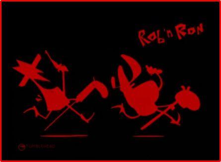 Роб и Рон / Rob n Ron (Магнус Иглэнд Моллер / Magnus Igland Moller, Петер Смит / Peter Smith) [2013, короткометражный анимационныйфильм, WEB-DLRip]