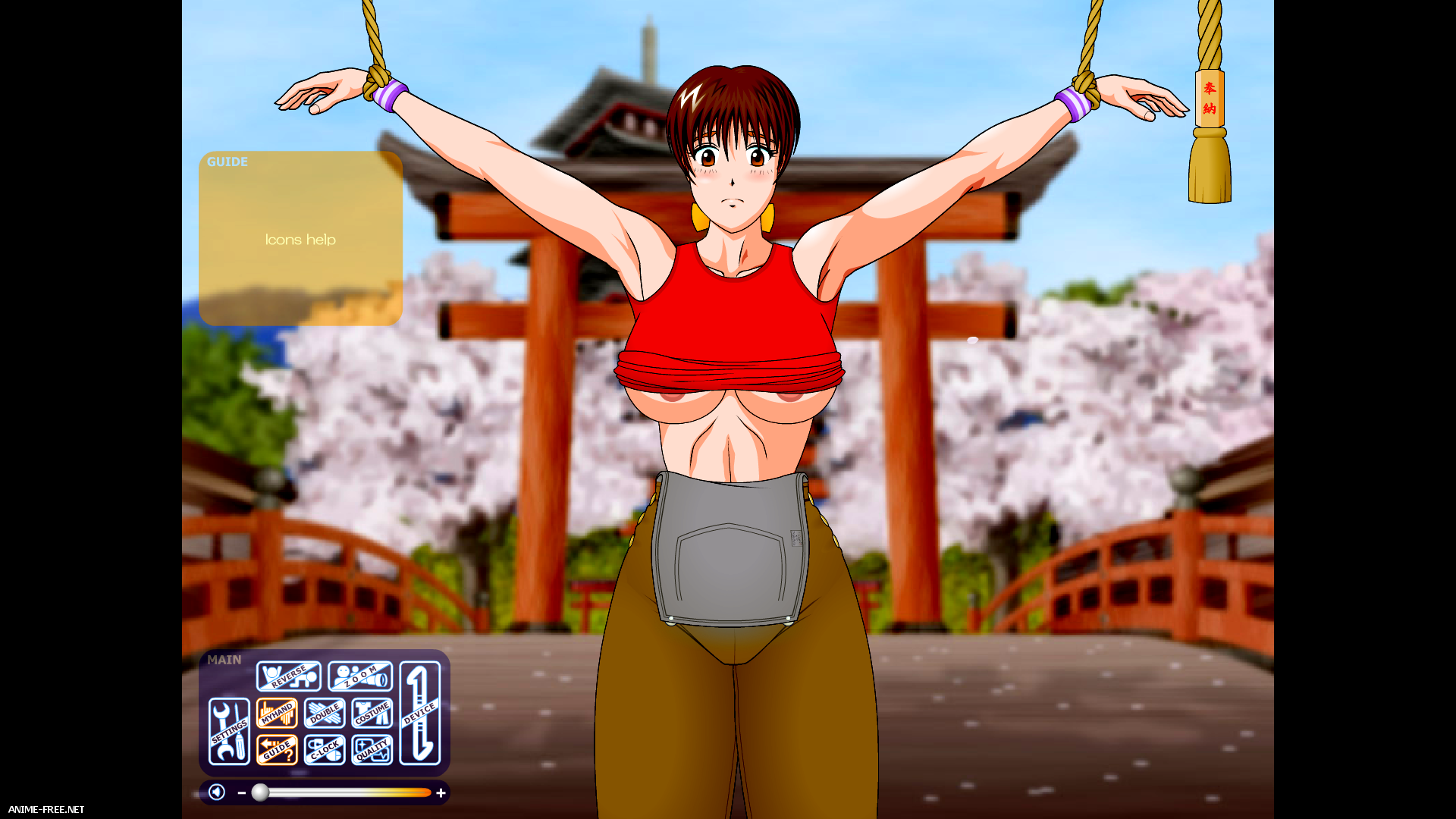 Feel the Flash Hardcore - Kasumi: Rebirth [2009] [Uncen] [Flash,Simulator] [ENG] H-Game
