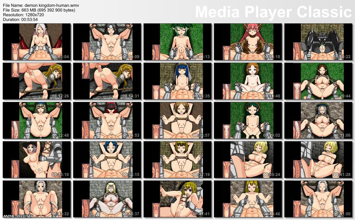 The Demon's Kingdom -Girls from the dead world- [2 из 2] [JAP] [720p] Anime Hentai