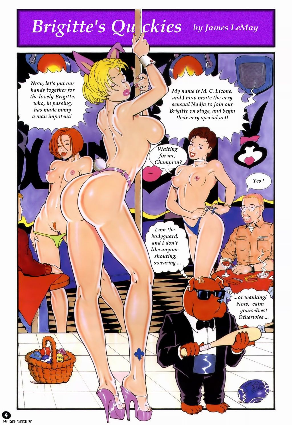 Collection comics by James Lemay / Сборник комиксов от James Lemay [uncen] [ENG,FR,RUS] Porn Comics