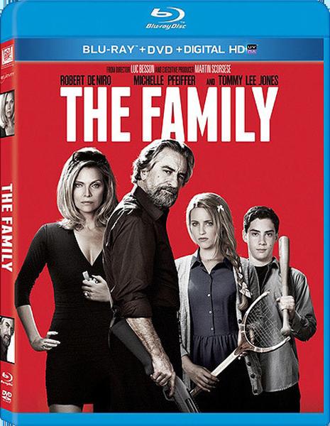 Малавита / The Family (Luc Besson / Люк Бессон) [2013, США, Франция, боевик, комедия, криминал, Blu-ray Disc (custom) 1080p] Dub + Sub (Eng, spa) + Original Eng