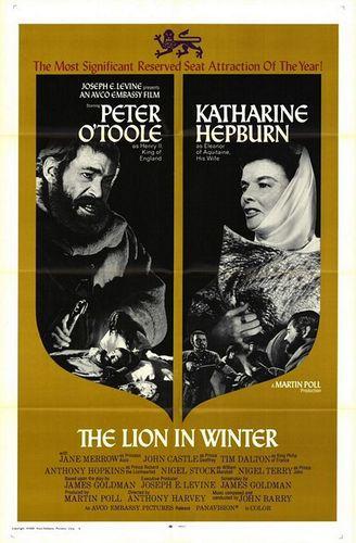 Лев зимой / The Lion in Winter (Энтони Харви / Anthony Harvey) [1968, Великобритания, драма, DVD9 (Custom)] MVO + Dub + Sub Rus, En + Original Eng