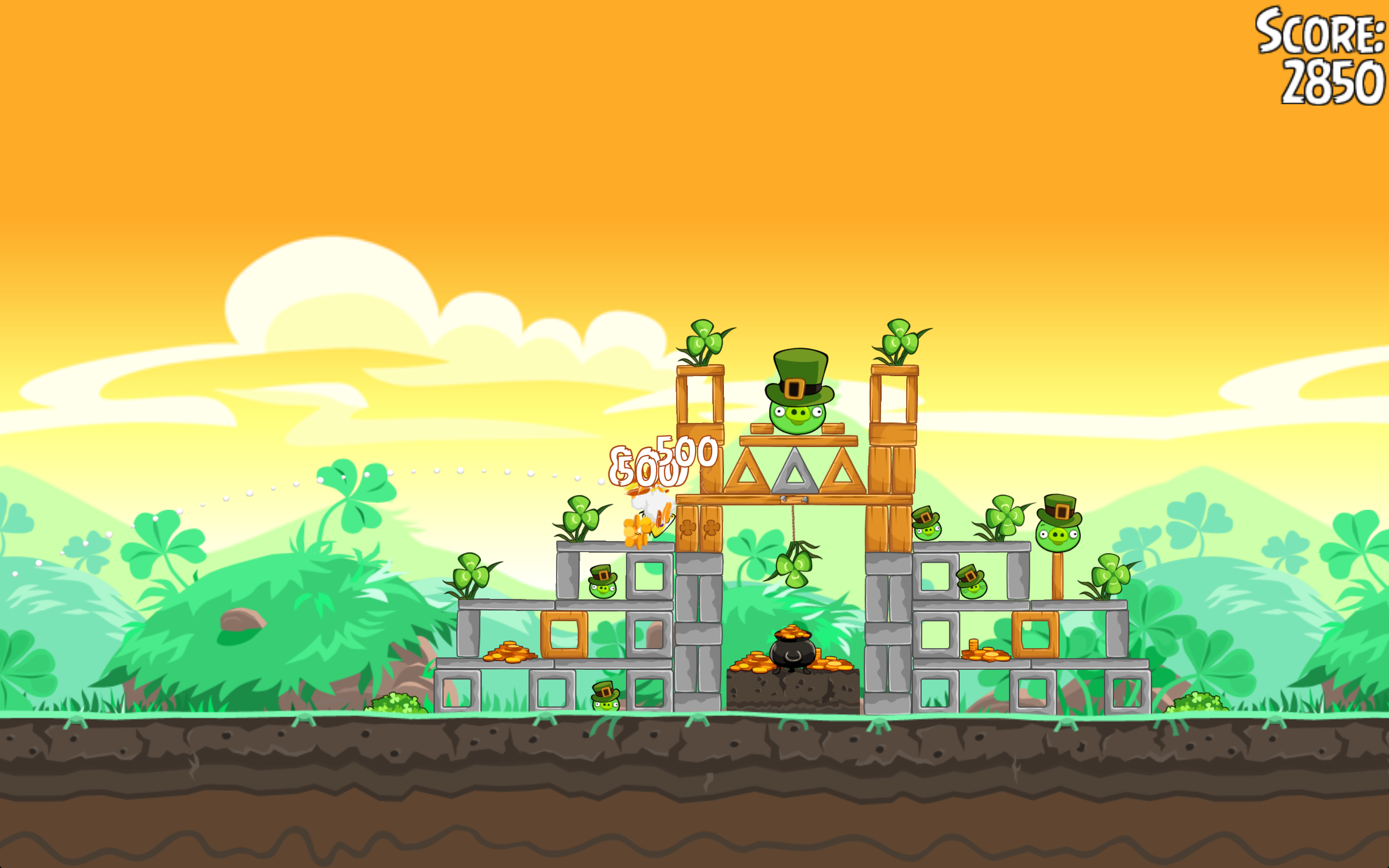 Angry Birds Seasons 4.0.1 (2013) [En] [App Store]