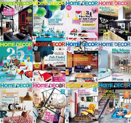 Home & Decor Singapore Magazine 2013 Full Collection