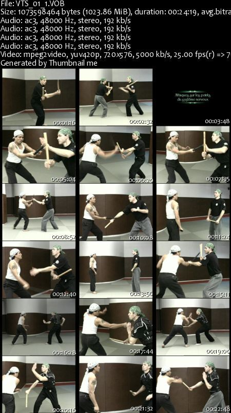 Filipino Arnis Training DVD