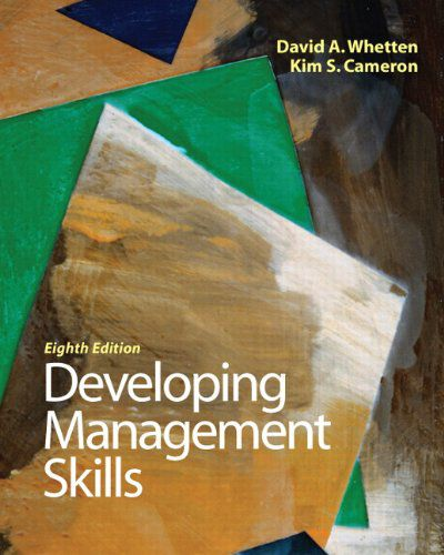 Developing Management Skills, 8th Ed (PDF)