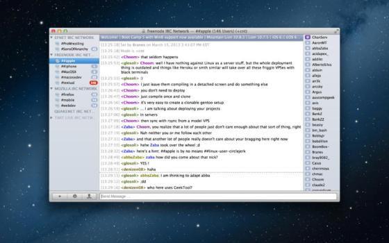 Textual IRC Client v4.0.2 Mac OS X