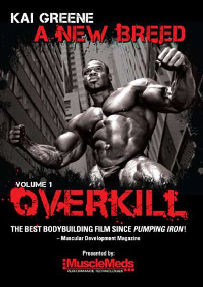 Kai Greene A New Breed: Volume 1 Overkill DVD