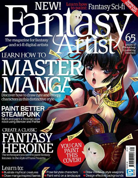 Fantasy Artist Magazine Issue 39