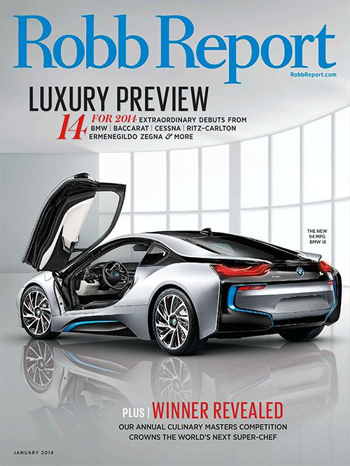 Robb Report - January 2014