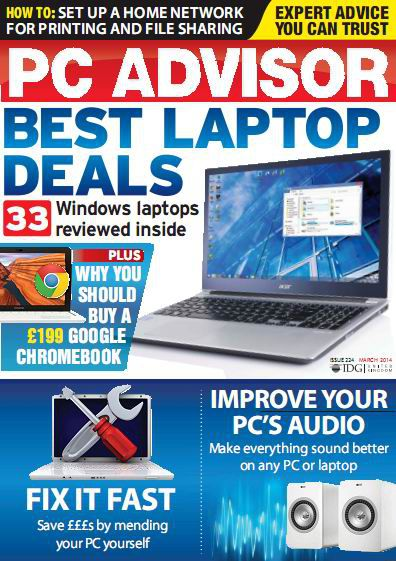 PC Advisor - March 2014 (True PDF)