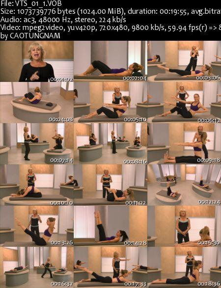 Mari Winsor - Flat Abs Pilates DVD
