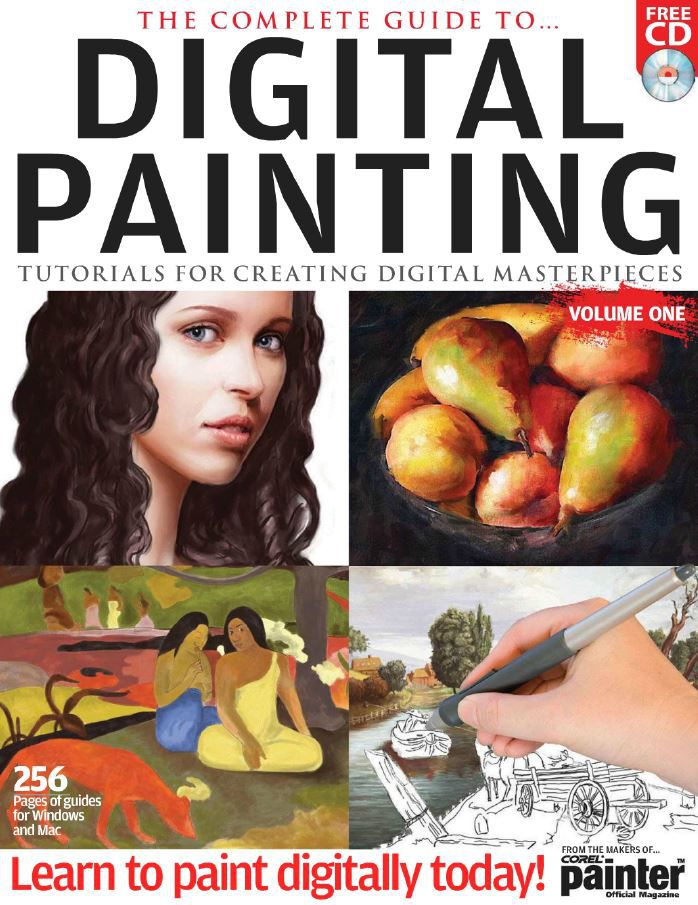 The Complete Guide to Digital Painting Vol. N 1 (HQ PDF)