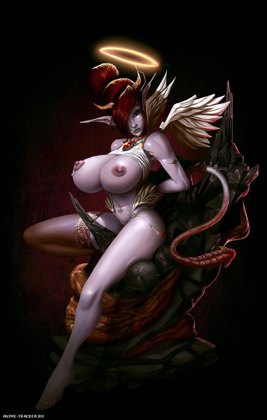 Хентай демонический ангелочек д 12 фотография
