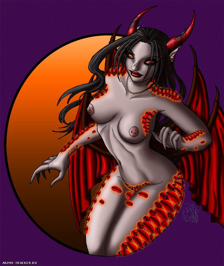 Demons / Демоницы [Uncen] [JPG,PNG] Hentai ART