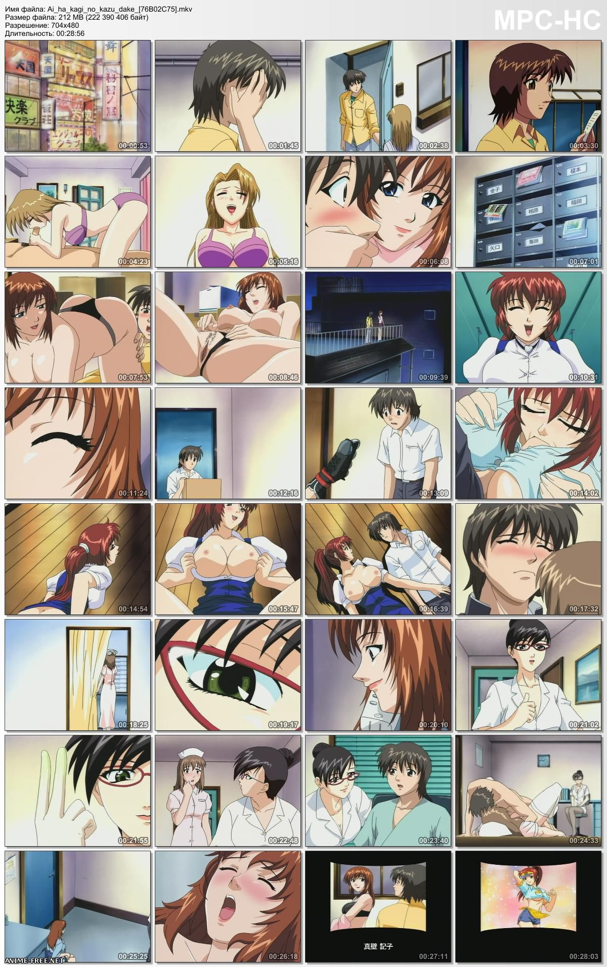 Love is the Number of Keys / Ai ha Kagi no Kazu Dake / Любовь, как связка ключей [1 из 1] [JPN,ENG,RUS] Anime Hentai