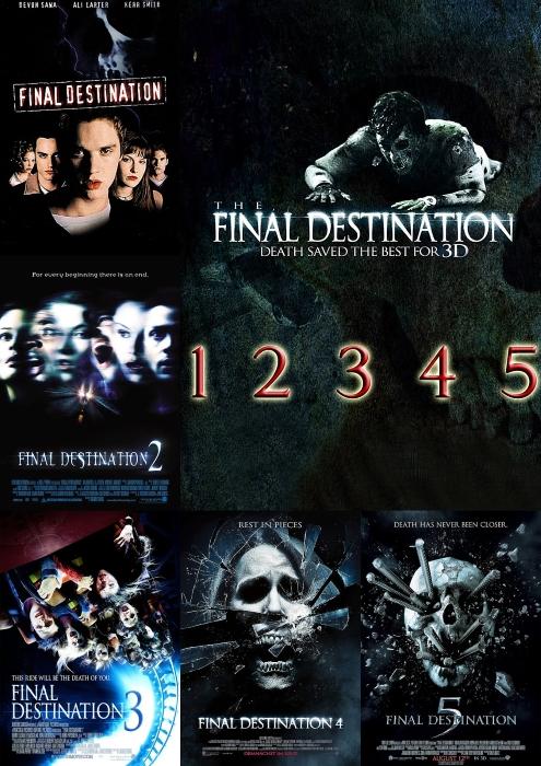 Пункт назначения. Пенталогия / Final Destination. Pentalogy (2000-2011, HDRip от Lord32x)