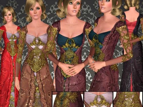 Женская одежда - Одежда для Sims 3 - Каталог файлов - sims-new