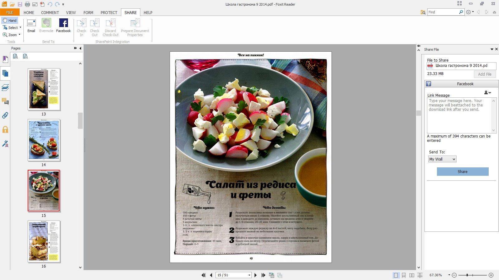 Foxit Reader 6.2.0.0429 (2014) Английский